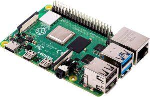 Raspberry Pi model 4